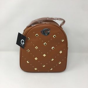 Chevron Gold Studded  Backpack